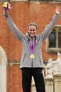 Armstrong defended her Beijing title with a dominant performance in London.