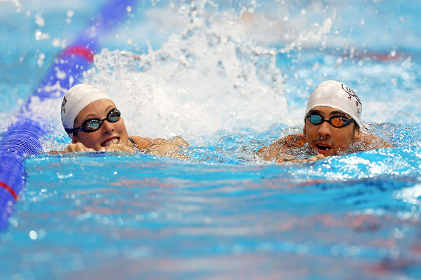 Allison Schmitt, Michael Phelps