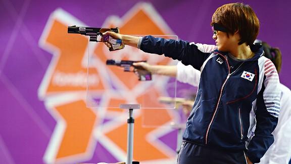 Olympic pistol