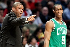 Doc Rivers and Rajon Rondo