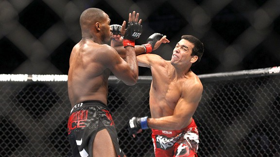 Lyoto Machida and Jon Jones