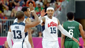 anthony breaking olympic mark points game 156-73 rout nigeria thursday