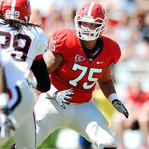 UGA tackle Kolton Houston
