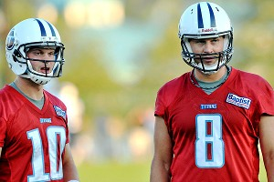 Jake Locker, Matt Hasselbeck