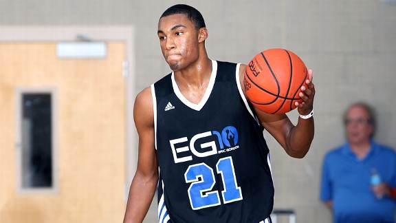 Zak Irvin, ESPN's No. 22 overall player in the 2013 class, figures to play a big role for Michigan next season.
