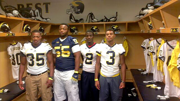 Deon Drake, David Dawson, Jourdan Lewis, Damon Webb