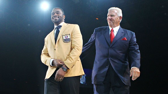 Curtis Martin and Bill Parcells