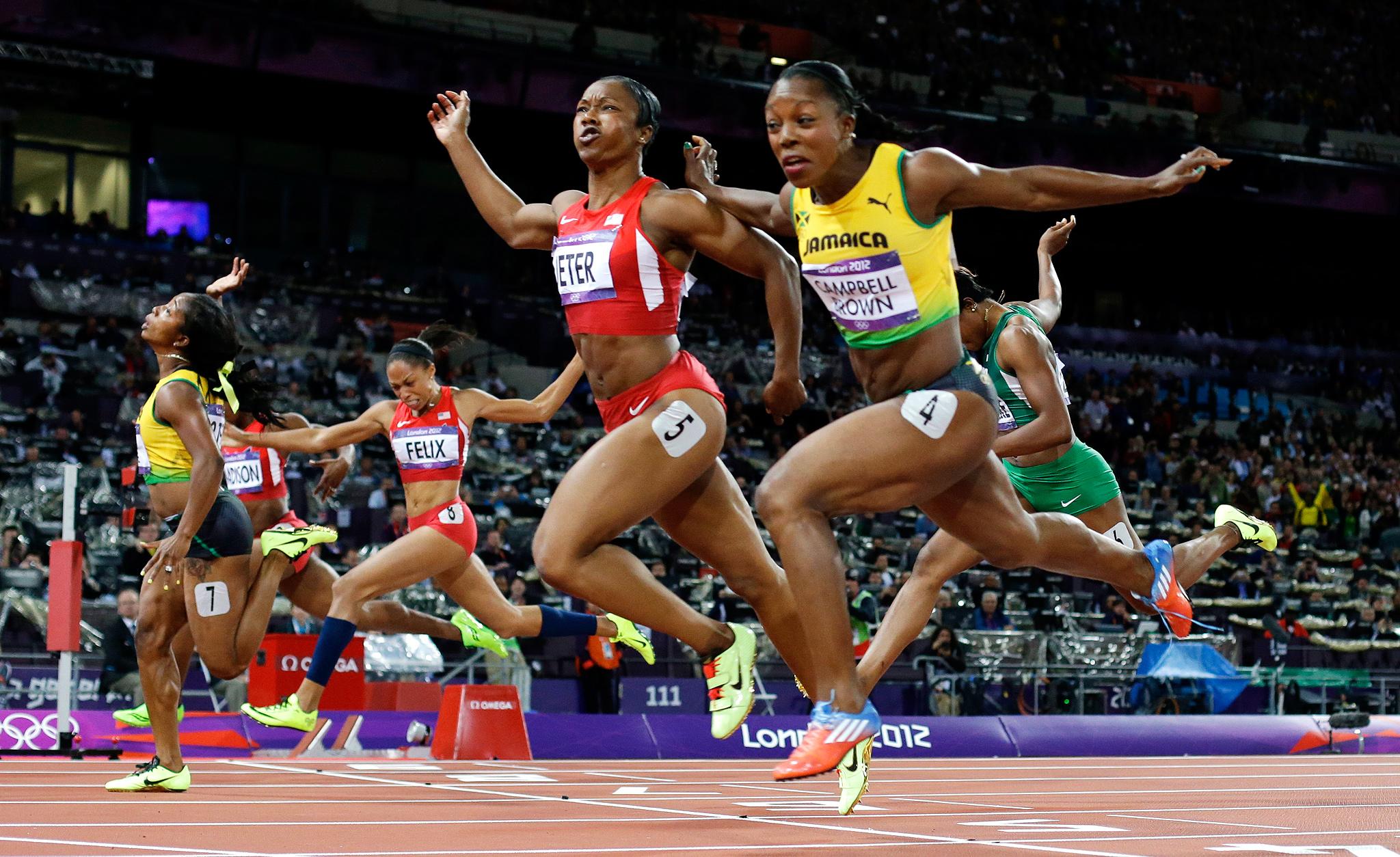 Women's 100-meter