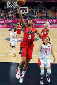 Angel McCoughtry has been a tremendous spark plug off the bench for Team USA.