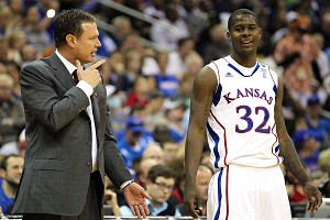Bill Self and Josh Selby