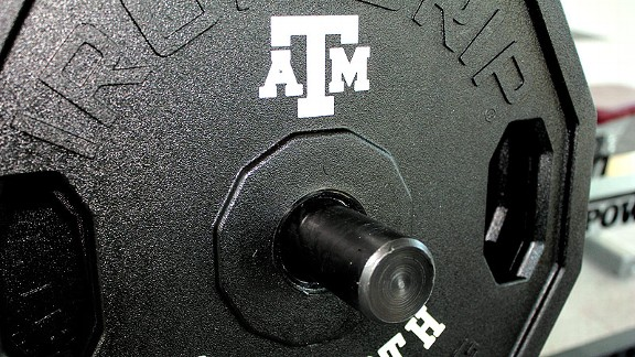 Texas A&M weight