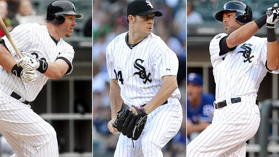 Adam Dunn/Jake Peavy/Alex Rios