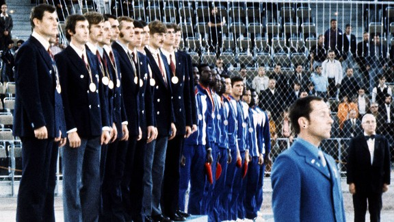 1972 Olympics Podium