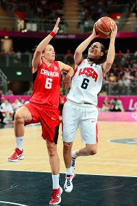 Sue Bird and the U.S. women face Australia (and Seattle Storm teammate Lauren Jackson) in the semifinals.
