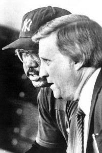 George Steinbrenner and Reggie Jackson