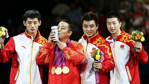 China Mens Table Tennis