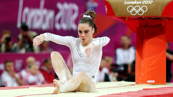 McKayla Maroney cried when she fell on her second vault and missed out on the gold medal.