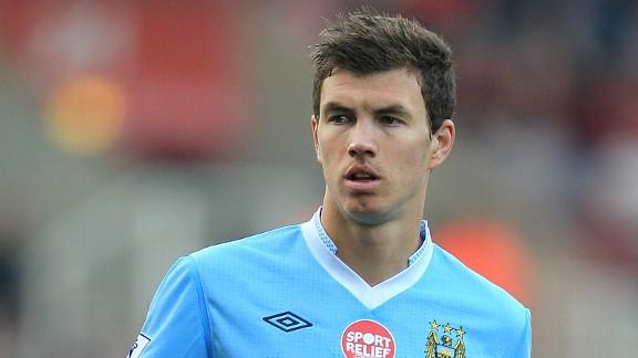 Is Edin Dzeko The Odd Man Out At Manchester City? -- James