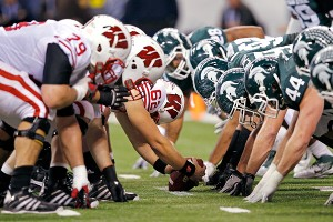 Wisconsin Badgers, Michigan State Spartans