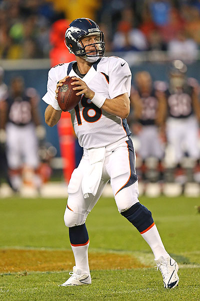 Peyton Manning Throwing