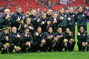 The U.S. women's soccer team won its third consecutive (and fourth overall) gold medal.