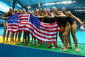 USA Women's Water Polo Gold Medal