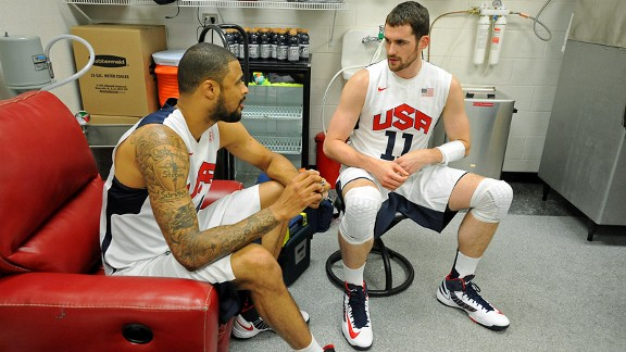 Tyson Chandler, Kevin Love