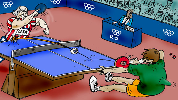 Ping Pong cartoon,