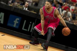 Derrick Rose NBA 2K13