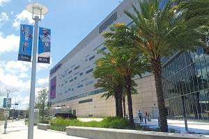 Amway Center street