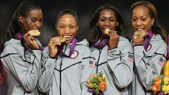 Team USA 4x400 women