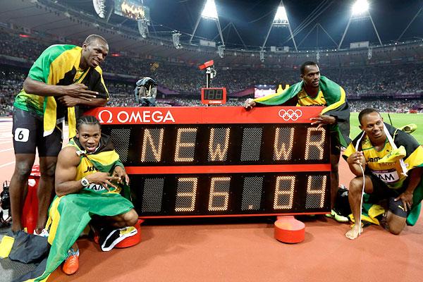 2012 London Olympics -- Jamaica sets 4x100 world record ...
