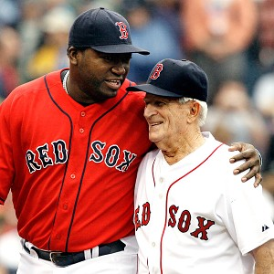 David Ortiz and Johnny Pesky