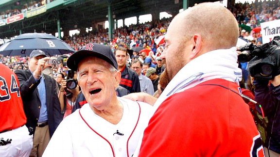 Johnny Pesky, Kevin Youkilis