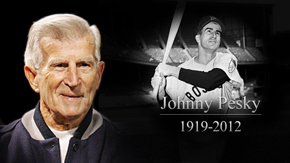 Johnny Pesky (1919-2012)