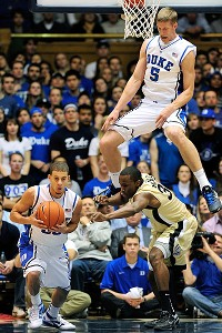 Seth Curry and Mason Plumlee
