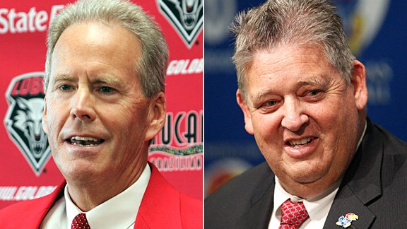 Bob Davie and Charlie Weis