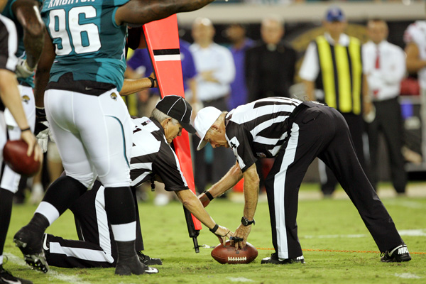 Replacement NFL officials