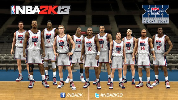 Dream Team (NBA 2K13)
