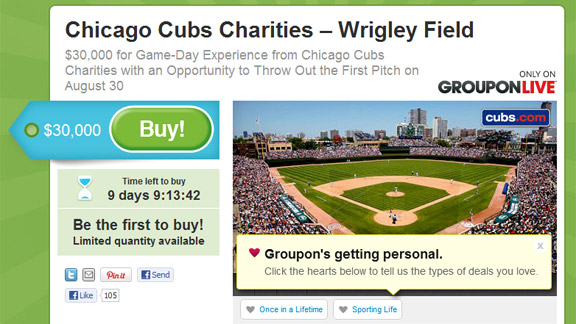 Chicago Cubs Groupon