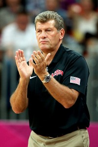 Geno Auriemma reportedly will return to coach the U.S. women's basketball team at the 2016 Rio de Janeiro Olympics.