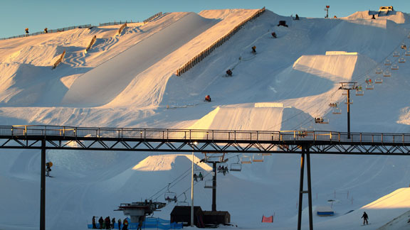 There's a reason every park or pipe contest in New Zealand seems to take place at Snow Park.