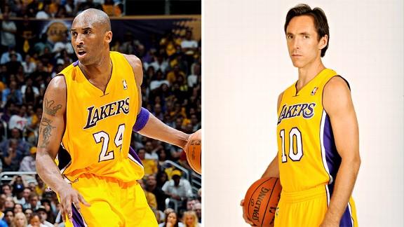 Kobe Bryant & Steve Nash