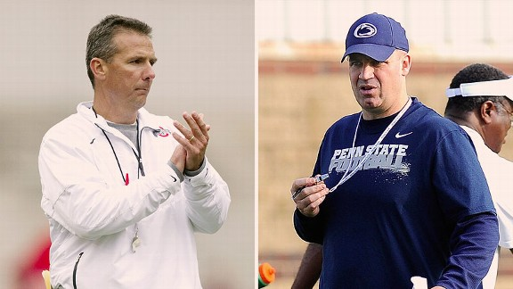 Urban Meyer and Bill O'Brien
