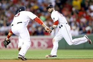 Mike Aviles and Dustin Pedroia