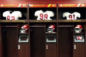 McKay Center locker room