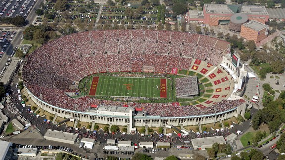 Los Angeles California Memorial Coliseum