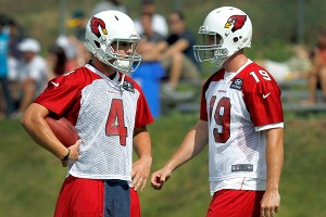 Kevin Kolb and John Skelton