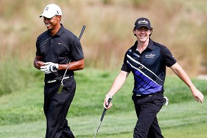Tiger Woods and Rory McIlroy