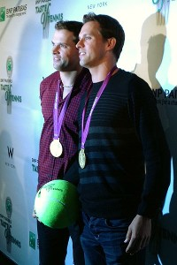 Mike and Bob Bryan